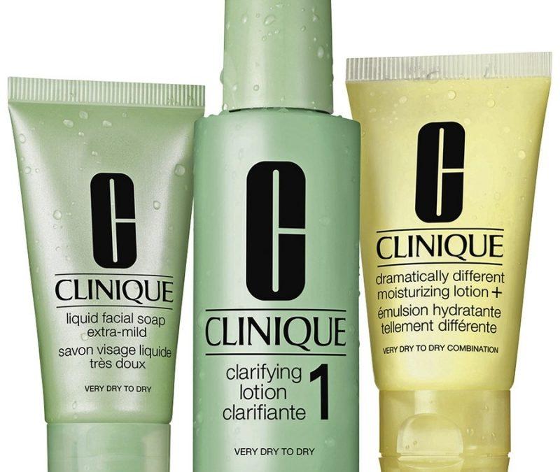 Revue du soin de la peau en 3 étapes de Clinique