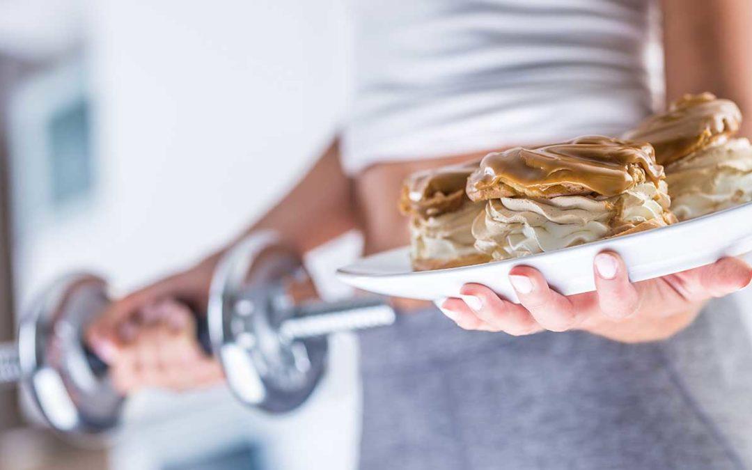 Faire de l'exercice pour compenser une mauvaise alimentation n'est pas une bonne idée.