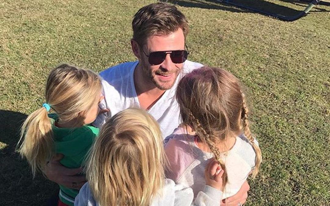 Les plans de Chris Hemsworth pour sa nouvelle scène avec Elsa Pataky et ses enfants