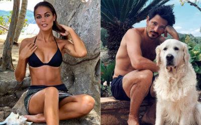Andrés Velencoso se sent'papillons' pour Lara Álvarez en bikini