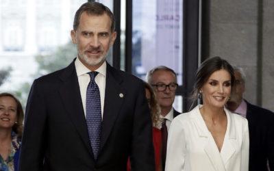 Les rois Felipe et Letizia inaugurent la saison du Teatro Real avec'Don Carlo' de Giuseppe Verdi.