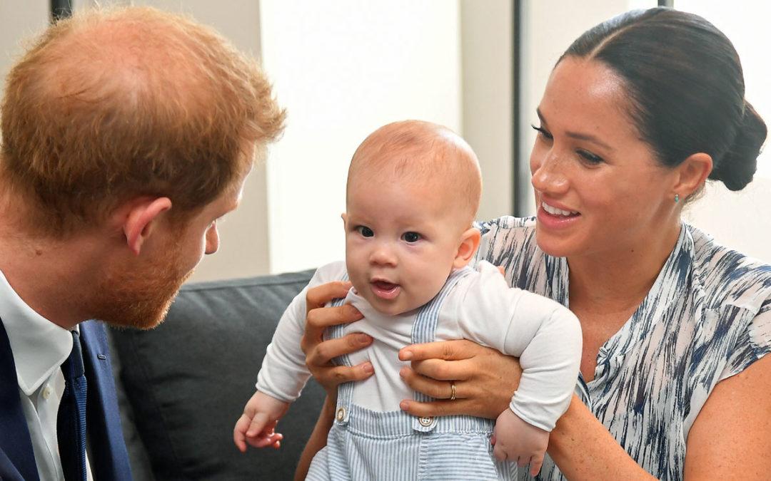 On se souvient de Harry et Meghan quand ils étaient petits, à qui ressemble Archie ?