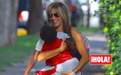 Susanna Griso, amour pur avec sa fille Dorcette dans ses premiers jours à l'école