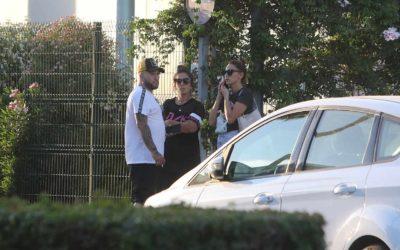 Kiko Rivera et Irene Rosales rendent visite à Doña Ana à l'hôpital
