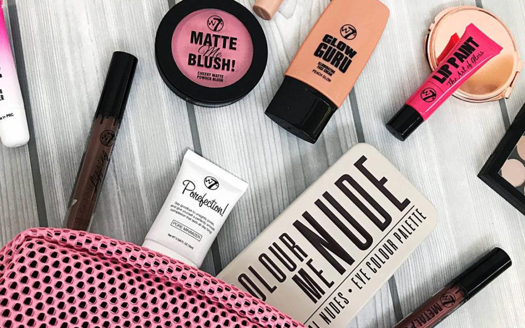 W7, notre nouvelle marque de maquillage bon marché